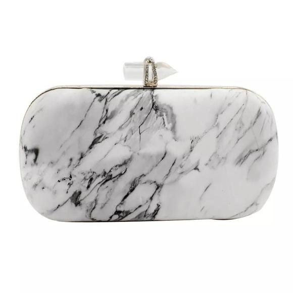 Marble Clutch Purse